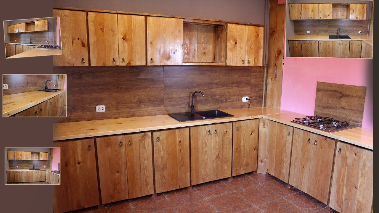 How to make the wood kitchen less than 165