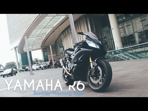 R6 vs Z800 vs CBR600RR vs Ducati Monster | JAKARTA, ID Morning Ride