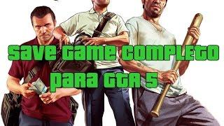GTA V 5 PC SAVE GAME 100% FULL TUTORIAL DE INSTALAÇÃO BY OLIVEIRA FULL HD 1080p