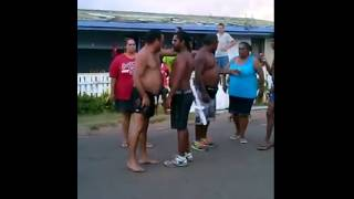 Cherbourg fight