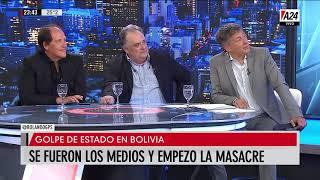 Se fueron los medios y empezó la masacre en Bolivia