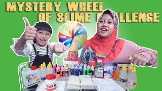 Mystery wheel of slime challenge