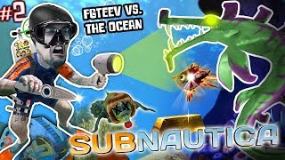 ALIEN SHARKS FOUND vs. MY SHARPY!! 🎵 FGTEEV Gets the Stank Walrus (Subnautica Survival #2)