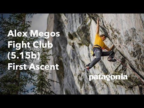 Alex Megos – Fight Club (5.15b) First Ascent