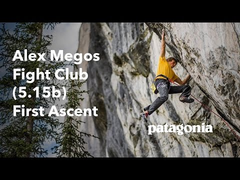 Alex Megos – Fight Club (5.15b) First Ascent