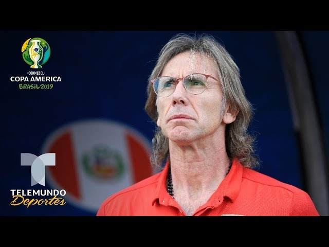 Perú vs. Brasil: Ricardo Gareca Conferencia de Prensa   Copa América   Telemundo Deportes
