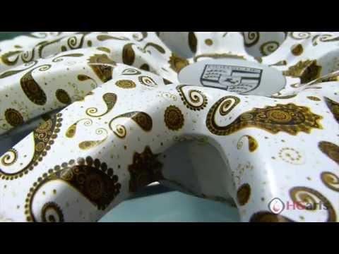 HG Arts | Golden Paisley (HGA - US08) - Water Transfer Printing | Hydrographics