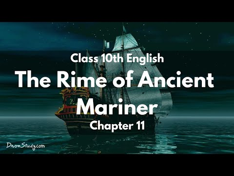 The Rime of the Ancient Mariner : Class 10 X CBSE English Vi