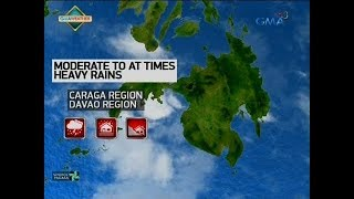 24 Oras: Weather update as of 5:36 p.m. (February 18, 2018)
