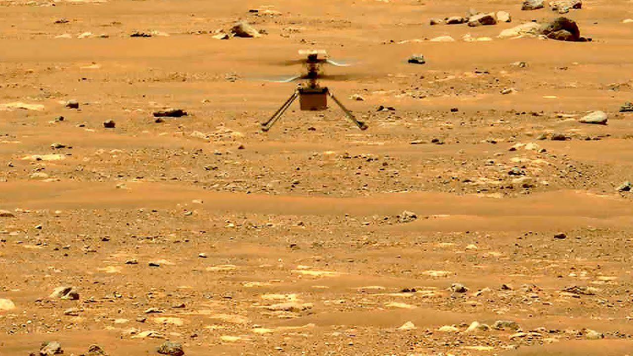 Ingenuity Mars Helicopter completed 2nd flight to 5 meters altitude