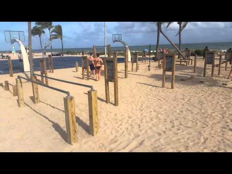 Fort Lauderdale Beach-Gym