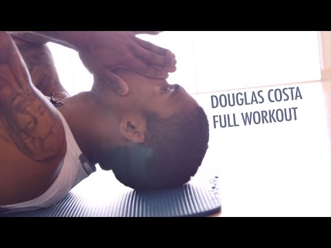 Soccer Conditioning Workout - Douglas Costa (FC Bayern Munich) Full Workout after Team-Training
