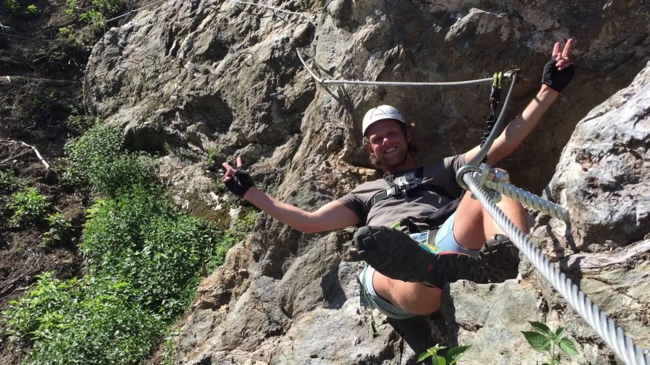 Klettersteig Rating : Neu: talbach klettersteig youtube