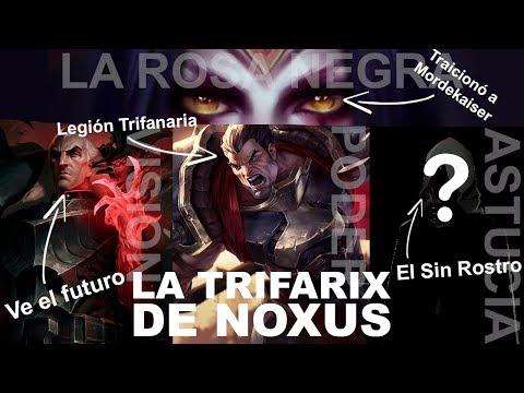 TRES REYES EN NOXUS: LA TRIFARIX | Universo Lol con Halo | Historias de Noxus