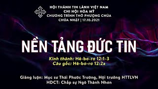 HTTL HÒA MỸ - Chương Trình Thờ Phượng Chúa - 17/10/2021