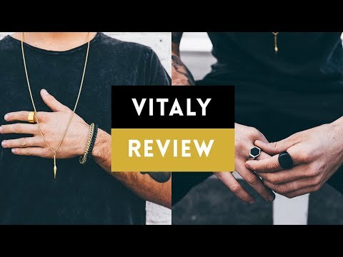 Best Streetwear Jewelry for Men? | Vitaly Design Review