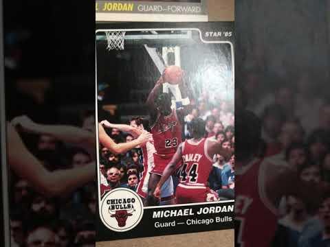 Michael Jordan 1984 Star Xrc Black Border
