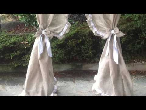 Tende Country Shabby : Видео tende country
