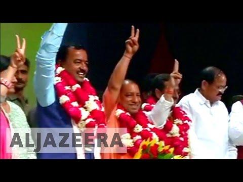 Controversial Hindu politician to lead India's Uttar Pradesh