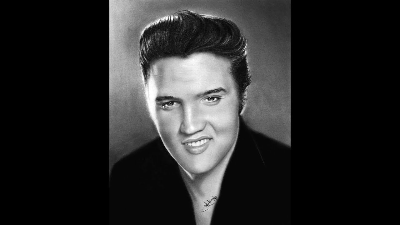 how to draw elvis