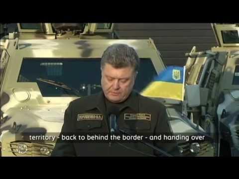 Ukraine Border Drones: President Poroshenko says European drones will patrol Russia border