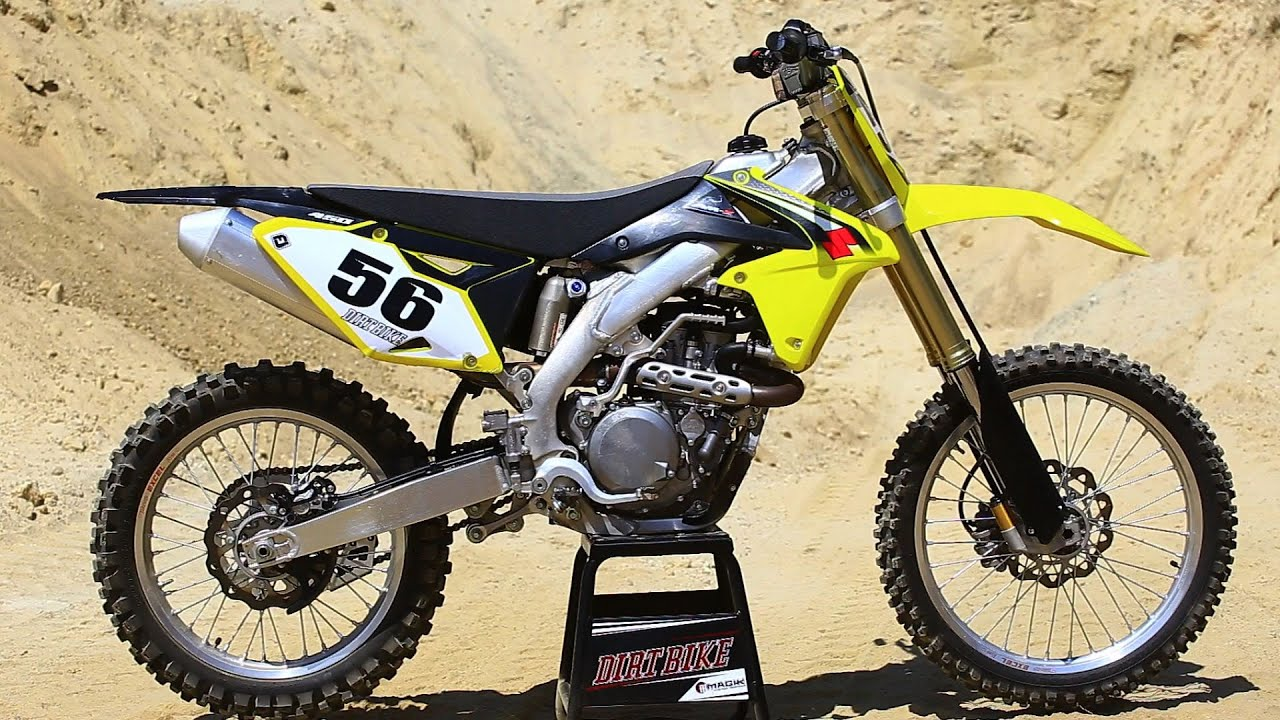 2016 Suzuki RMZ 450- The 16s Dirt Bike Magazine - YouTube