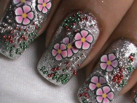 Fimo cane nail art tutorial youtube fimo cane nail art tutorial prinsesfo Choice Image