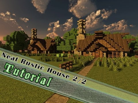 Minecraft Tutorial How To Build A Medieval Rustic House Part 2 The Interior