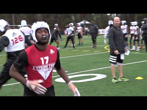 Brandon Sanders Highlights #126 Rivals Camp Series Mobile 2018