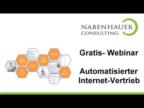 Automatisierter Internet Vertrieb - Gratis Webinar - Insider Stategie von Robert Nabenhauer