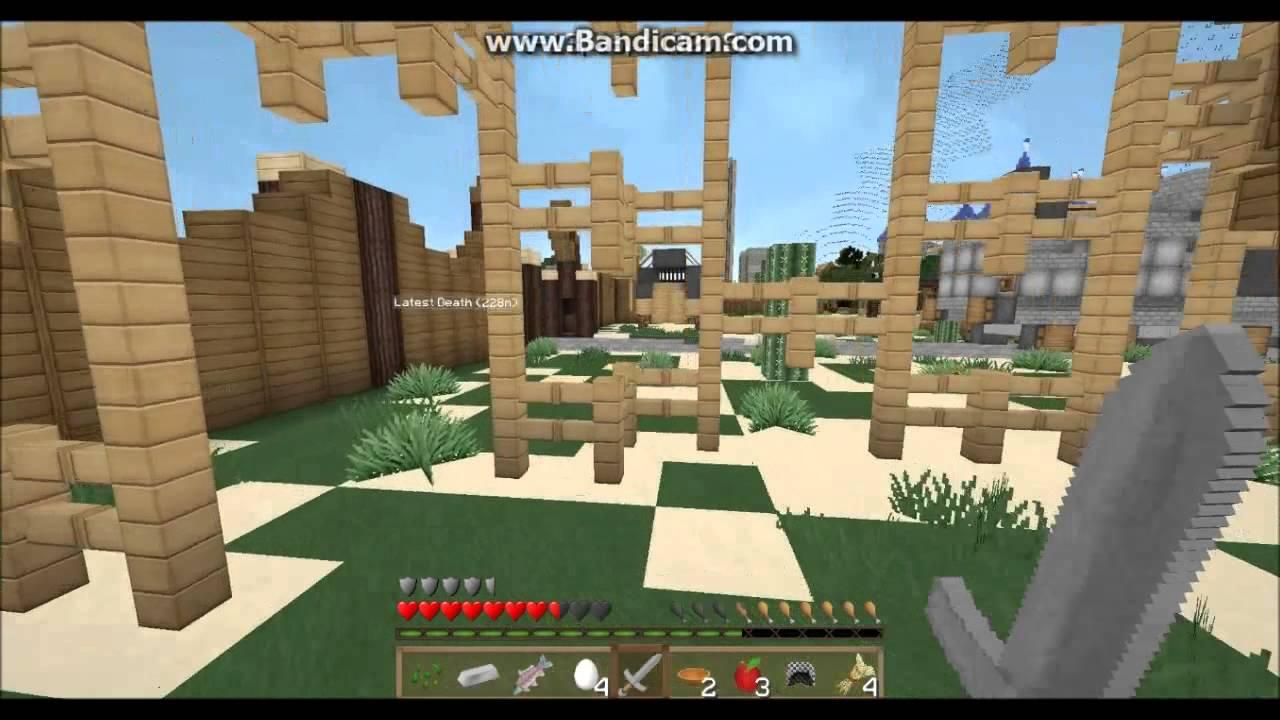 Lets Play Minecraft Survival Games Auf Funville Hunger Games - Minecraft hunger games auf deutsch