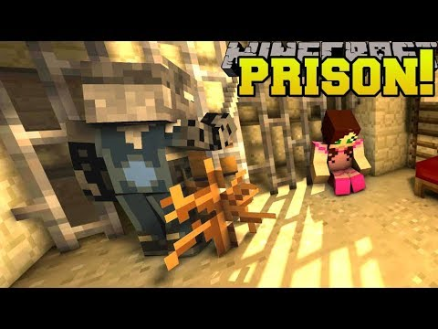 Minecraft: ESCAPING PRISON!! - SCIENCE SANTA - Custom Map [1]