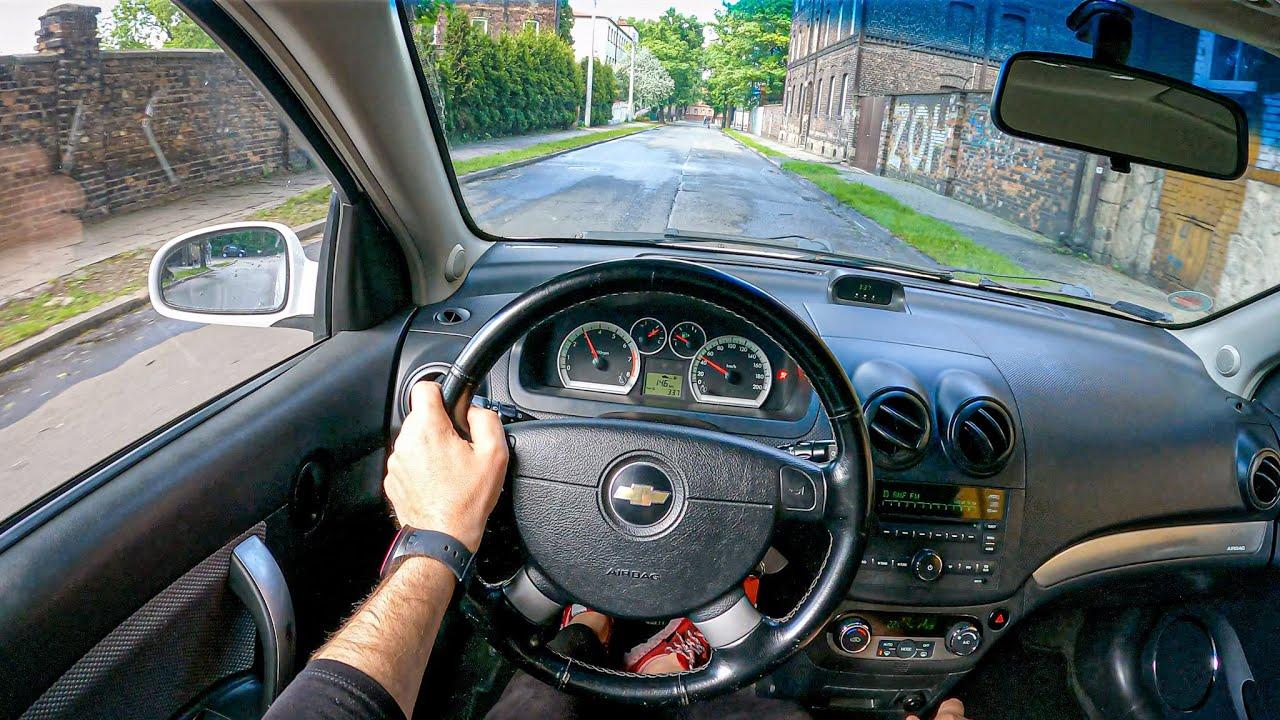 2009 Chevrolet Aveo (Kalos) [1.4 101HP]  0-100  POV Test Drive #805 Joe Black