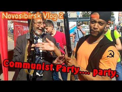 Novosibirsk Vlog Ep 2: Communist Party party.