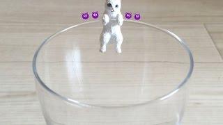 Чашка Висить Кішок! Японський Gyachapon капсула іграшка #6 - ガチャガチャぶらりんニャンコ#6!