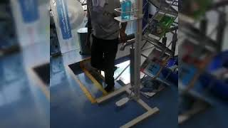 Foot Operated Hand Sanitizer
