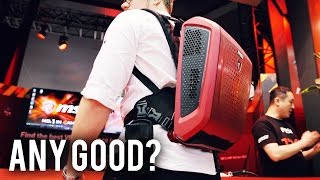 MSI VR Backpack - Promising or Too Ambitious?
