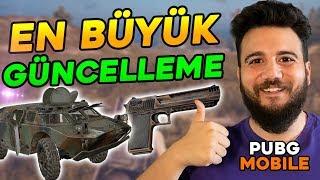 GELMİŞ GEÇMİŞ EN BÜYÜK GÜNCELLEME! PUBG Mobile YENİ TANK ve Yeni Silah Deagle
