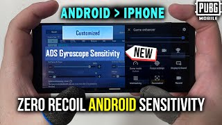 How To Get The Best Android Sensitivity | Android Handcam | PUBG MOBILE/BGMI