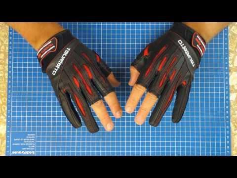 Перчатки для спиннингиста от Тсурибито