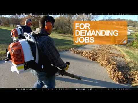 BR 350/BR 430 STIHL Backpack Blower