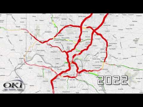 Brent Spence Bridge   Future Traffic Congestion