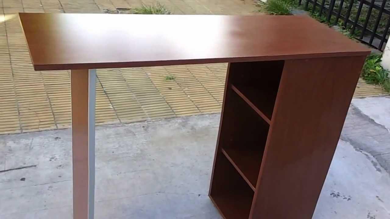Remodelamos tu cocina desayunador mueble con estantes for Cocinas con desayunador