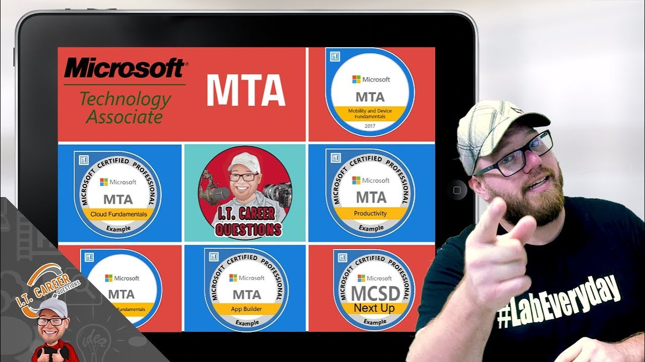 What Is The Mta Certification Microsoft Technology Associate Youtube