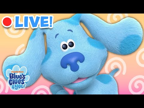 🔴LIVE: Blue Skidoo, We Can Too Compilation!  | Blue's Clues & You!