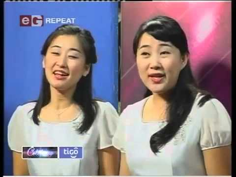 Chinese singing Ghanaian songs