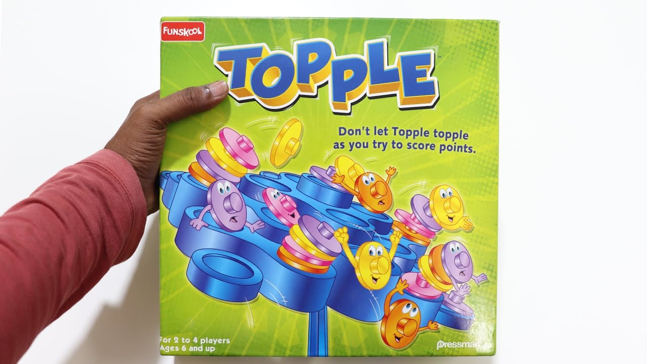 Topple Game Unboxing & Testing – Funskool – Chatpat toy tv