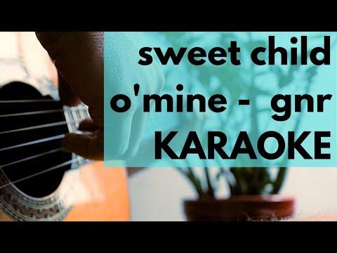 Sweet Child O'Mine – Karaoke Acoustic – Guns N'Roses