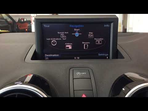 Japan import Audi A1 MMI3G+ convert to NZ radio and GPS!
