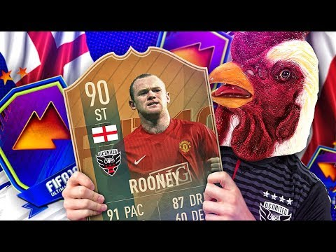 WE FINALLY GOT HIM! 90 RATED FLASHBACK WAYNE ROONEY! FIFA 19 Ultimate Team